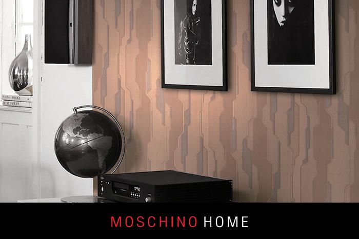 moschino home duvar kağıdı
